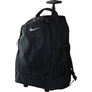 an image to enlarge nike accessories rolling laptop backpack black