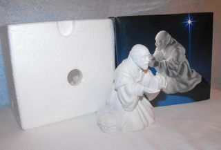 Avon Nativity Collectibles Porcelain Figurine The Magi Melchior 1982