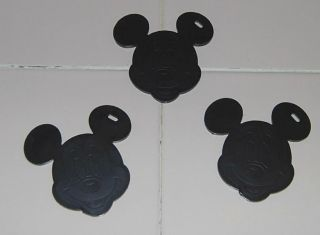 MICKEY MOUSE HEAD BALLOON WEIGHTS ~ DISNEY THEME PARTY SUPPLY