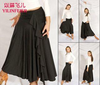 Latin Salsa ChaCha Ballroom Dance Dress M065 Skirt