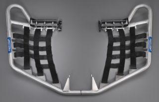 stock heel guards, use with the Ballance Racing Pro Peg Heel Guards