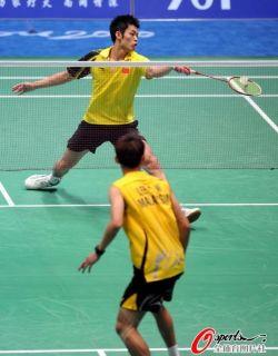 New Li Ning Badminton Men 2011 Asia Games Shirt 9352A