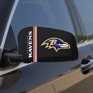 Baltimore Ravens Large Car Truck Mirror Covers FAST SHIPPING PLUS FREE