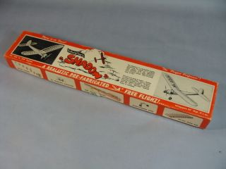 VINTAGE 50S ENTERPRISES SHADOW BALSA WOOD AIRPLANE MODEL KIT NEW
