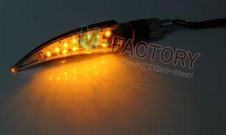 Bana Chrome Universal Motocycle Turn Signal Light Indicators 14 LED M8