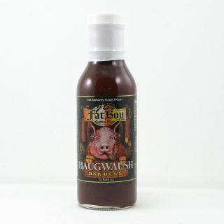 Natural Chipotle Sticky Stuff or Haugwaush Barbecue Sauce 12 Oz