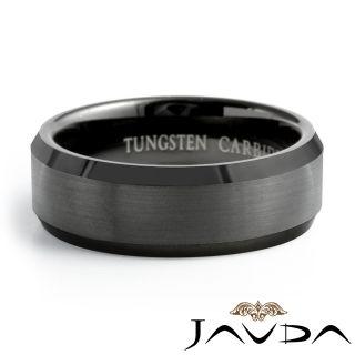17g Tungsten Men Wedding Band Ring Enamel Plated SZZZZ