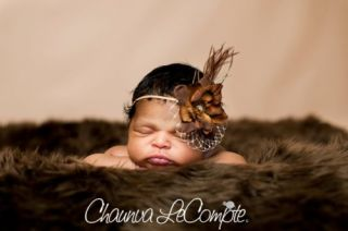 Chocolate Brown Fur Baby Toddler Photo Prop Rug