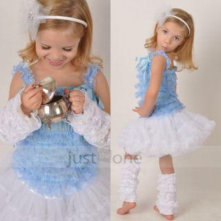 Cute Baby Girls Pretty Lace Petti Leg Arm Warmers Legging Sock Cover