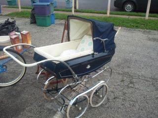 Pedigree Vintage Antique Baby Carriage Stroller