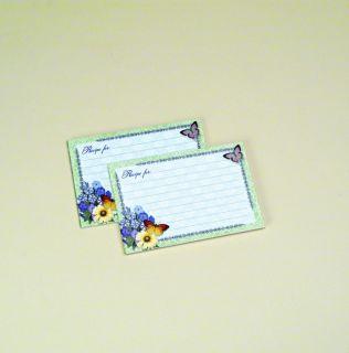 Gardens 4 x 6 Lined Recipe Cards 36 Ct Pkg Barbara Anderson