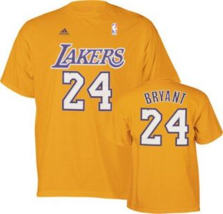 La Lakers Kobe Bryant Gold Jersey T Shirt Sz Small