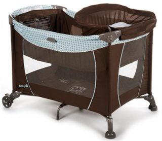 safety 1st travel easy play yard plus baby bassinet