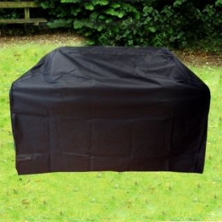 Fire Mountain Heavy Duty 4 Burner BBQ Barbecue Cover Black