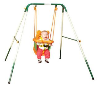 Baby toddler swing set outdoor play kids playground swingset NEW