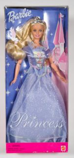 Barbie Doll Dove Princess New Mattel 2000 Blonde 28264