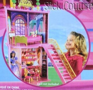 Barbie Castle Three Musketeers Secrets Surprises 2 5Tall RARE New