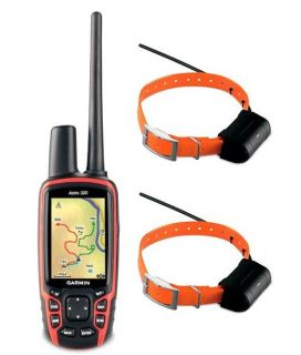 Garmin Astro 320 Dog GPS Tracking Combo/Bundle With 2 DC40 Collars