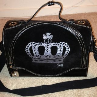 Authentic Juicy Couture Extra Large XL Dog Pet Carrier Purse RARE Cute