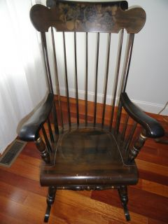 Ethan Allen Barnstable Rocking Chair with Old Tavern Finish