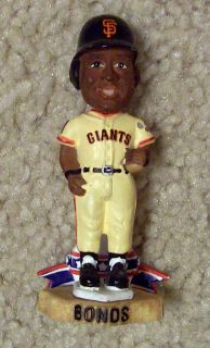 BARRY BONDS Forever Collectables Legends of the Diamond Bobblehead