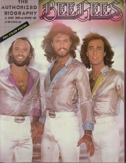 Authorised Biography Book 161 Pages Barry Robin Maurice Gibb