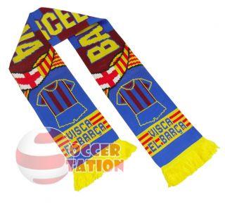 Barcelona Football Club Scarf Visca El Barca