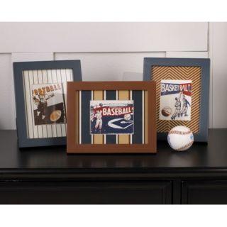 Cooperstown Quilt Boys Sports Nursery Bedding Stripes Baseball