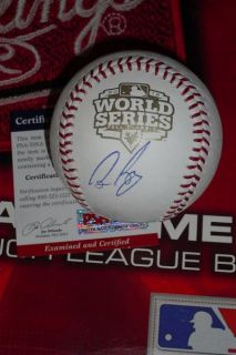 BOCHY SIGNED 2012 WORLD SERIES BASEBALL, SAN FRANCISCO GIANTS, PSA/DNA