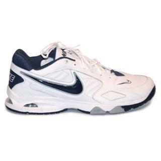Nike Air Diamond Trainer Mens Baseball/Softball Shoes White/Navy 14
