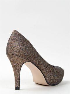 Girl Getta Women Classic Basic High Heel Pump Sz Glitter Multi