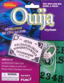 Ouija Board Game Basic Fun Key Chain Keychain New