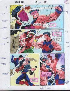 Guide Art Wonder Man vs Avengers Foes Grim Reaper Baron Zemo