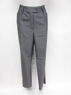 BASLER Gray Wool Straight Leg Dress Pants Slacks Trousers Sz 40