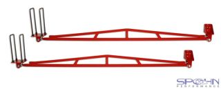 Rear Traction Bars  1994 2002 Dodge Ram 4x4 Quad Cab Short Bed
