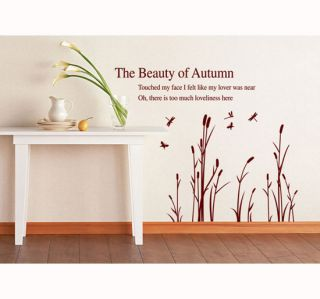 New Large Wall Stickers Removable Mural Home Decor Vinyl Art Decal