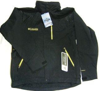 Columbia Bandon Hard Shell Jacket Mens Large $250