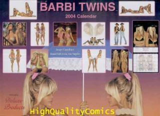Name of Item? BARBI TWINS (Shane & Sia Barbi) Calendar 2004