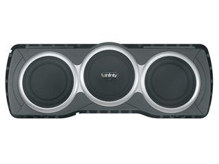 Infinity BassLink T Powered Subwoofer includes a remote level bass