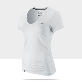 Nike Solid Swoosh Womens T Shirt 411756_100_A