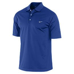Nike Tech Solid Mens Golf Polo Shirt 434589_471