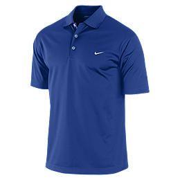 Nike Tech Solid Mens Golf Polo Shirt 434589_471_A