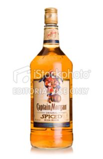 stock photo 17392850 captain morgan rum bottle