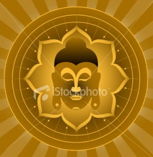 stock illustration 5082768 god buddha
