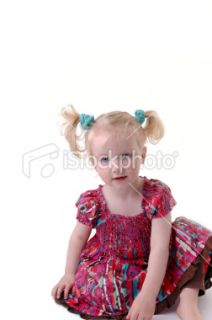 stock photo 9752142 cute little girl