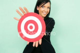Cible, Marketing, Femmes, Recrutement, Affaires  Stock Photo  iStock
