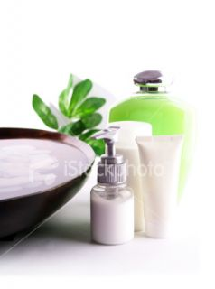 stock photo 5393300 spa cosmetics series