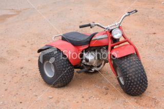 stock photo 6919661 honda three wheeler atv