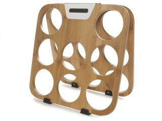features specs sales stats features this rabbit bamboo wine rack can