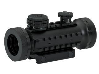 BSA Optics Stealth Tactical Illuminated RGB 30mm Sight   STSRGBD30